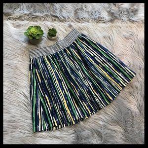 NWT Anthro. Porridge Duo Pattern Striped Skirt